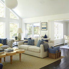 Beach Style Living Room by Joshua Smith Inc
