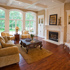 Traditional Living Room by Walker Homes LTD