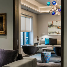 Contemporary Living Room by Kaufman Segal Design