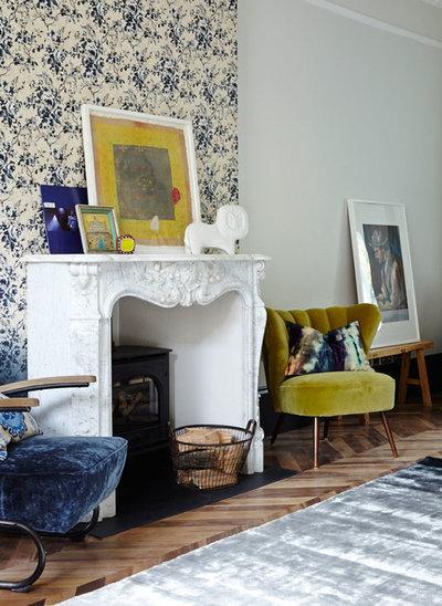 Modern Living Room by Anna Burles