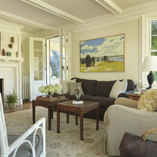 Traditional Living Room by Taste Design Inc