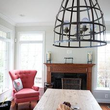 Beach Style Living Room by Dream House Studios