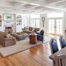 Beach Style Living Room by Bountiful