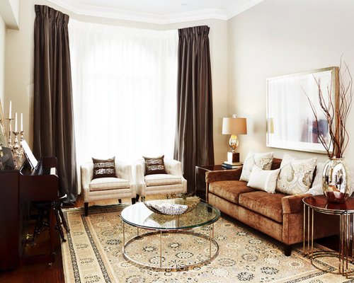 Brown Curtains Houzzrhhouzz: Brown Bedroom Curtains At Home Improvement Advice