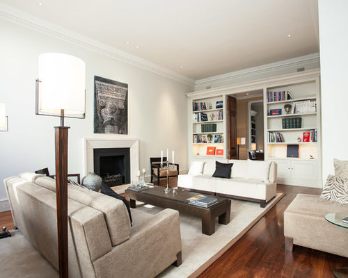 Inspiration For A Transitional Living Room Remodel In London
