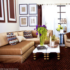 Contemporary Living Room by Natalie Younger Interior Design, Allied ASID