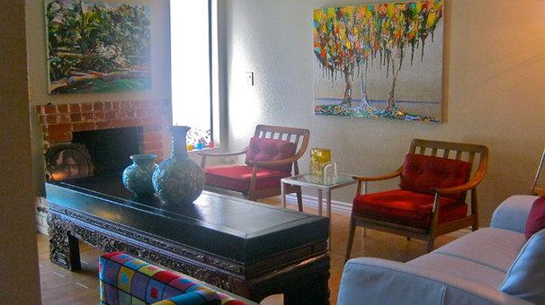 Eclectic Living Room Ecclectic interiors