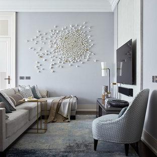 Decorazione per la parete del soggiorno - Foto e idee | Houzz