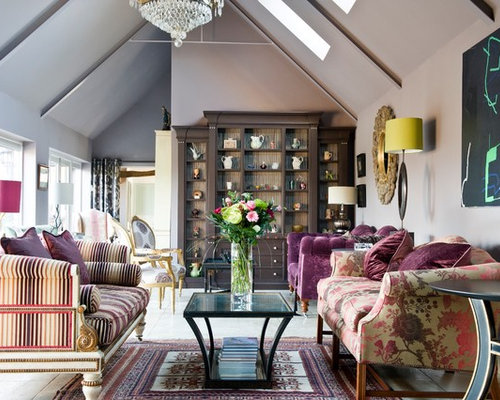 Eclectic living room design ideas renovations photos for Eclectic bohemian living room