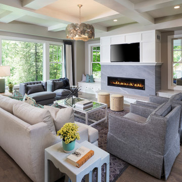 Eclectic Cape Cod Transitional Style Home