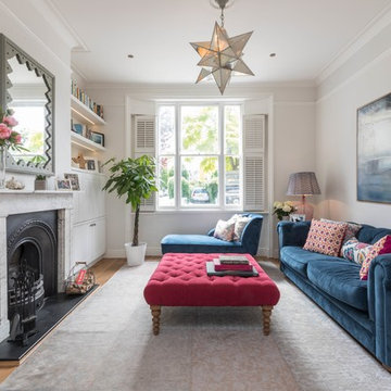 Eclectic Drawing Room