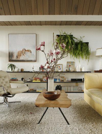 Etonnant Rétro Salon Eclectic Eichler Living Room
