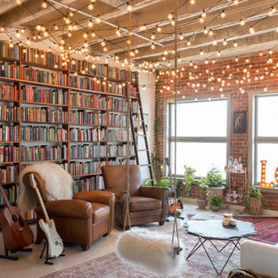75 Most Popular Loft Style Living Room Design Ideas For 2019