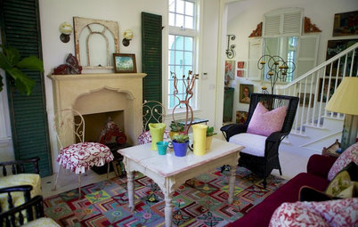 Houzz Tour: Color Brings Endless Summer to a Santa Monica Home