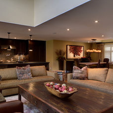 Eclectic Living Room by Avalon Interiors