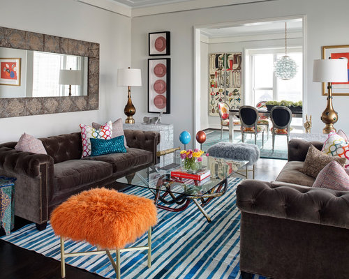eclectic living room houzz