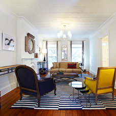 Eclectic Living Room by Chango & Co.