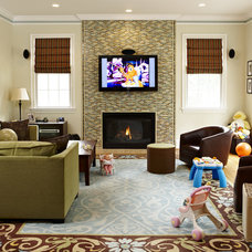 eclectic living room by Designing Solutions