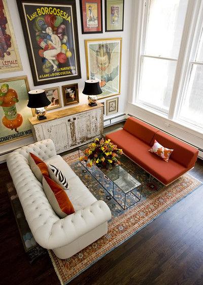 Фьюжн Гостиная Eclectic Living Room