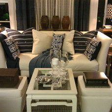 Eclectic Living Room by FOCAL POINT STYLING