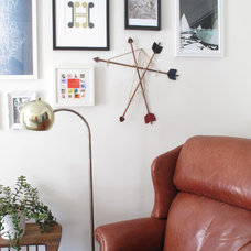 Eclectic Living Room by The Red Jet