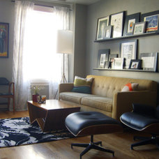 Eclectic Living Room Small Space