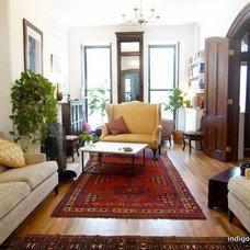 Eclectic Living Room by indigo & ochre design