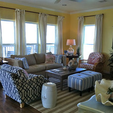 Eclectic Living Room by Kim Armstrong