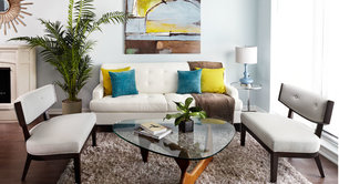 Small Living 101: How To Make Your Living Room Look Larger