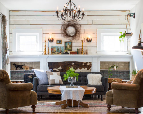 best design living room. Eclectic living room idea in Portland with gray walls 25 Best Living Room Ideas  Remodeling Pictures Houzz