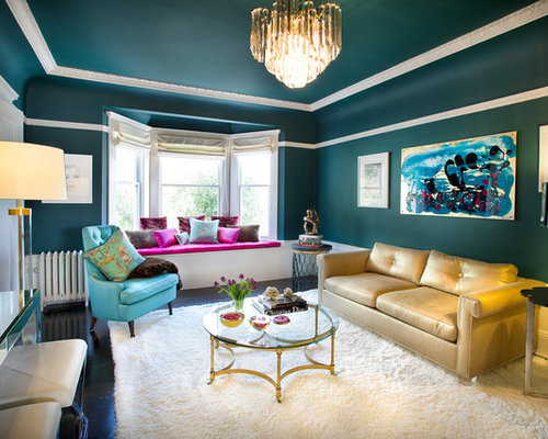 Teal Ceiling Houzz