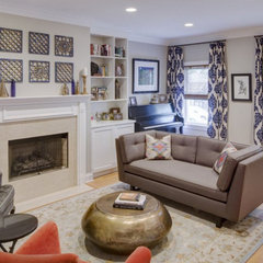contemporary living room by Lugbill Designs