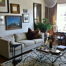 Eclectic Living Room by Phillip Lantz Design