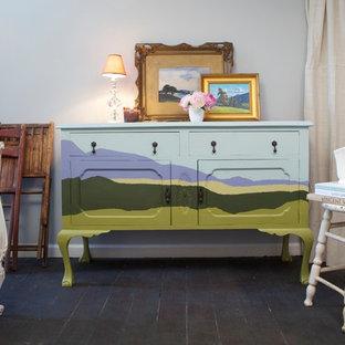 Living room - eclectic living room idea in San Francisco