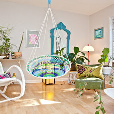 Eclectic Living Room by Sarah Natsumi Moore