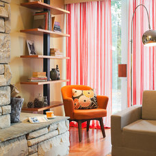 Eclectic Living Room by Ennis Nehez