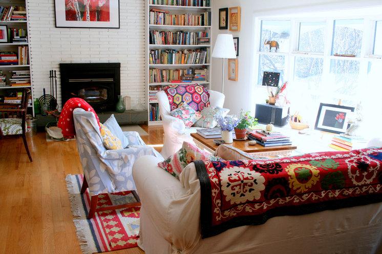 Шебби шик Гостиная Eclectic Living Room