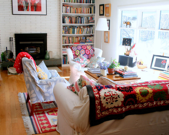 SaveEmail. Eclectic Living Room