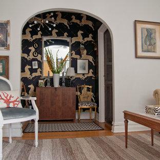 Stilmix Wohnzimmer in New York