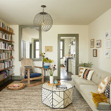 Eclectic Modern-Bohemian Brownstone Apartment