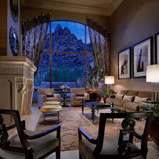 Traditional Living Room by Ownby Design