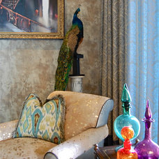 Eclectic Living Room by Favreau Design