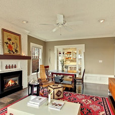 Eclectic Living Room by Seattle Staged to Sell and Design LLC