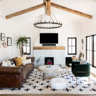Eclectic Spanish Beach Bungalow