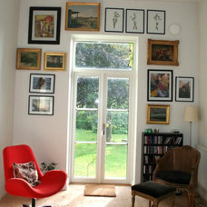 Midcentury Living Room Eclectic Swedish Country House