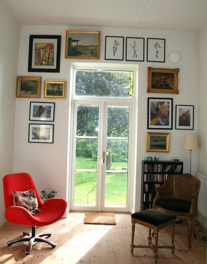 eclectic living room Eclectic Swedish Country House
