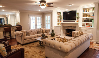 Eclectic Tennessee Living Room