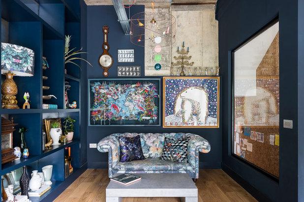 Eclectic Living Room by Doris Lee Design Studio