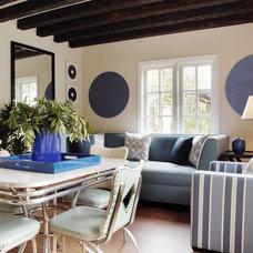 Modern Living Room by Timothy Corrigan, Inc.