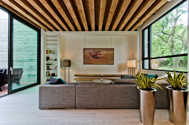 Contemporary Living Room by Alexandre Parent